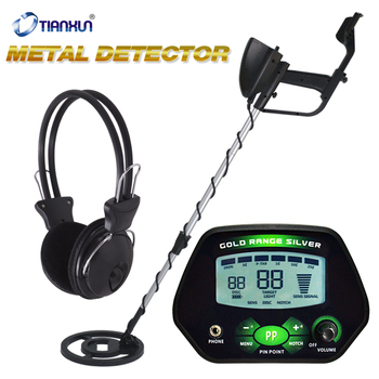 Metal Detector Gold Digger LCD Treasure Hunter Professional Pinpointer Underground Gold Detector MD-4090 High Precise Search metal detector pinpointer portable gold detector pin pointer treasure hunter automatic tuning belt holster led indicator