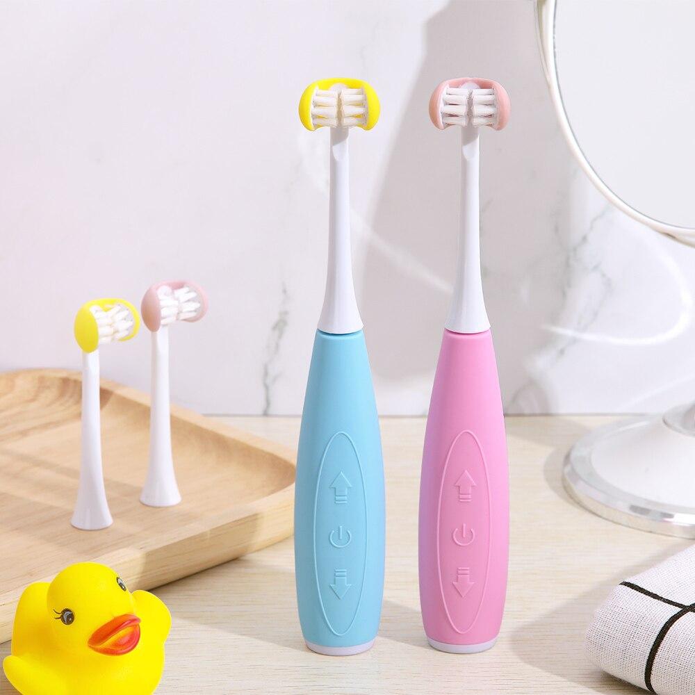 3d lado sonic escova de dentes elétrica 3 lado sb recarregável substituição cabeça da escova 5 modo à prova dwaterproof água 2 minutos temporizador 30s lembrar