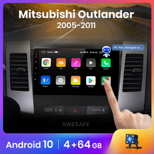 AWESAFE PX9 für Mitsubishi Outlander xl 2 2005-2011 Auto Radio Multimedia video player GPS Keine 2 din Android 10,0 2GB + 32GB