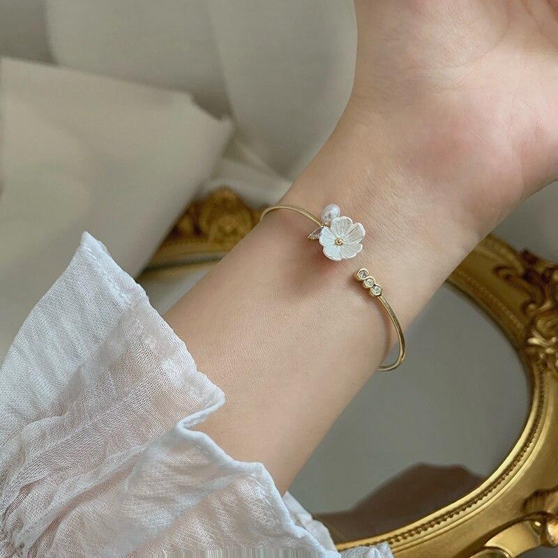 Купить mengjiqiao 2020 элегантный браслет ручной работы с ракушками