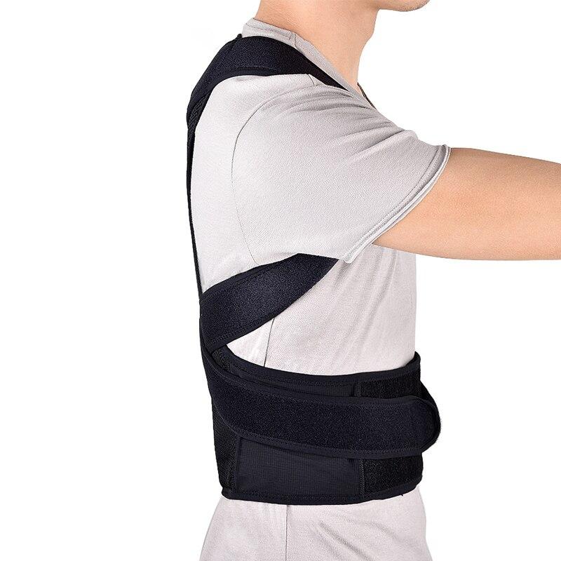 Back Posture Corrector Belt Adjustable Shoulder Lumbar Brace Spine Support Adult Corset Posture Correction Body Belt Health Care