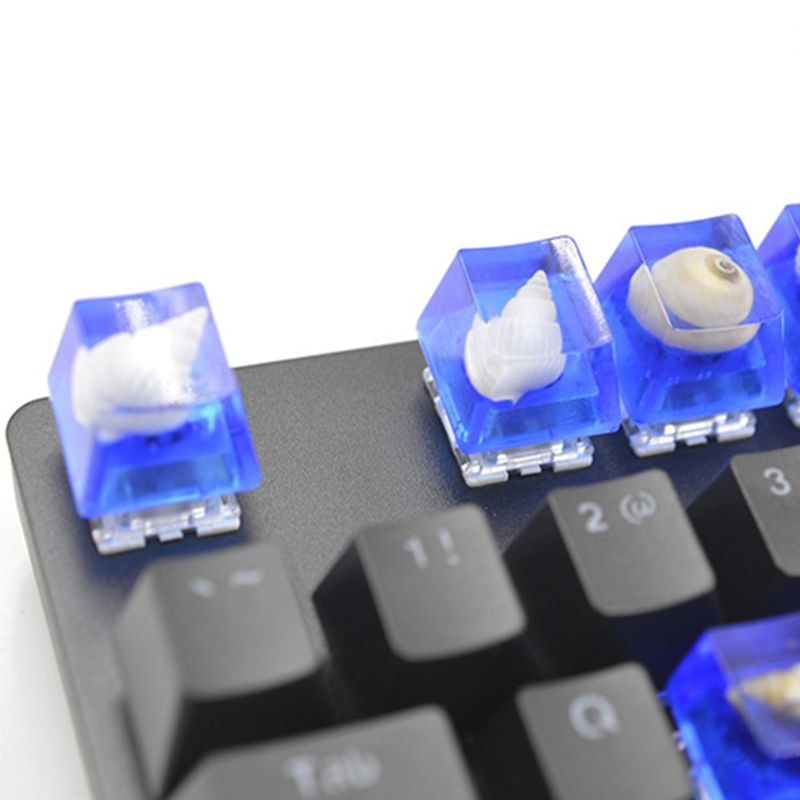1 Set Manual DIY Mechanical Keyboard Key Cap Silicone Mold UV Crystal Epoxy Molds Handmade Crafts Making Tools