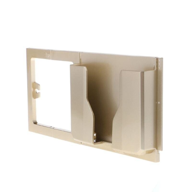 Soporte para teléfono de pared con soporte ABS soporte para cargador móvil de carga soporte para estante de Casa soporte de almacenamiento de carga
