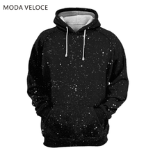 MODAVELOCE Skull Noise Hoodie Polyester With Wool Sweatshirts Men Women Soild Color Anime's Women's Sweatshirts Coat(China)
