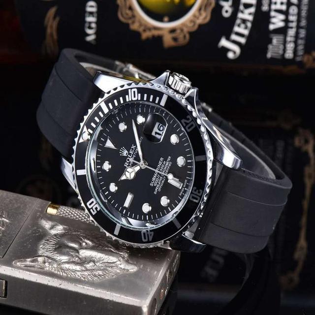 Top Luxury Brand WINNER Black Watch Men women Casual Male Watches Business Sports Military Stainless Steel Watch 56