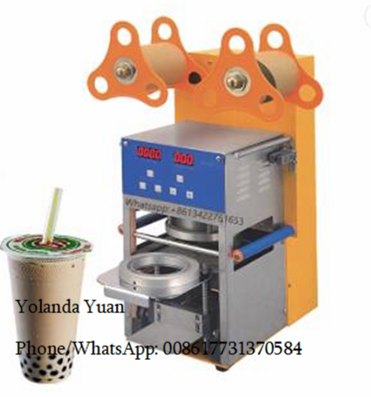 Factory Price Homeuse Cup Sealing Machine Commercial Professional Juice Cup Container Plastic Sealing Machine
