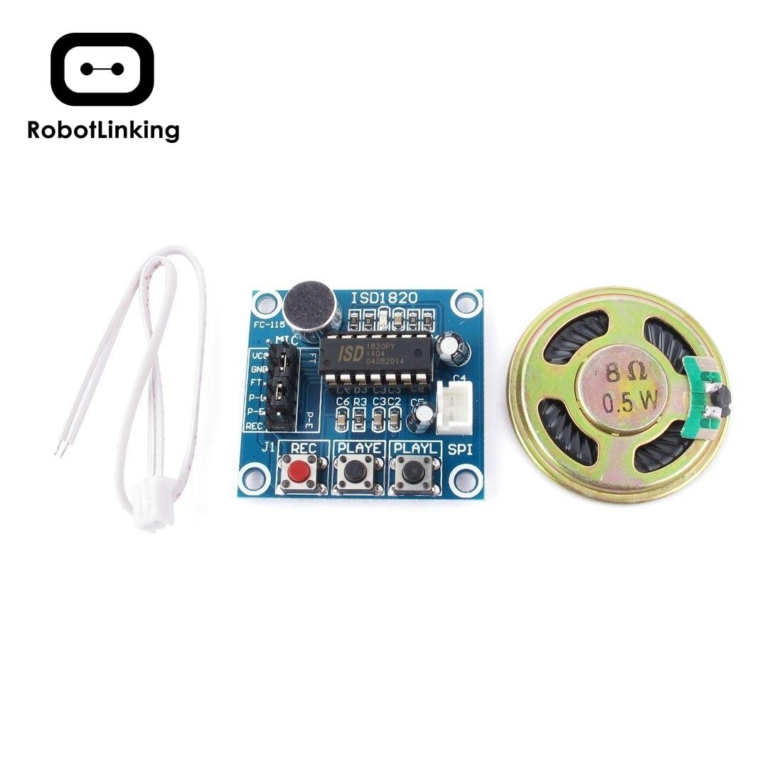 ISD1820 модуль записи звука, голоса, аудио, микрофона
