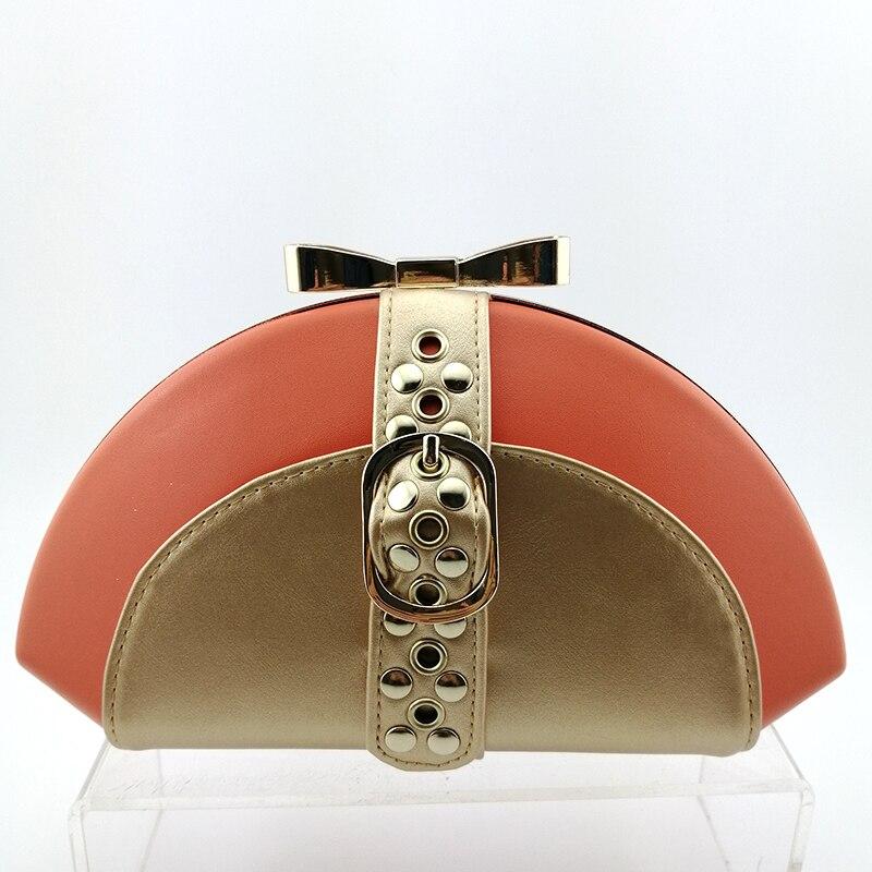 2019 African Spezielle Design Damen Schuhe und Tasche Set Weiß Farbe Italienisches design Schuhe mit Taschen Komfortable Heels Frauen Schuhe - 6