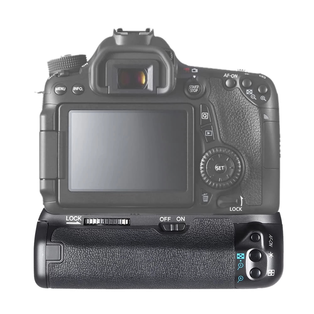 MEKE Meike MK-70D BG-E14 Vertical <font><b>Battery</b></font> <font><b>Grip</b></font> Holder For CANON EOS 70D <font><b>80D</b></font> Cameras image