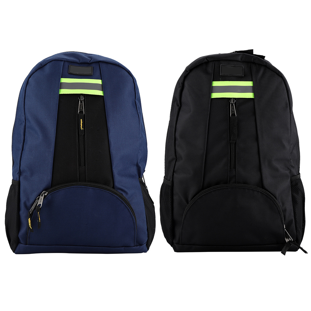 Black Multi-Pocket Tools Backpack Oxford Cloth Fabric Tools Backpack Wear-Resistant Bag computer bag for Electrician Plumber