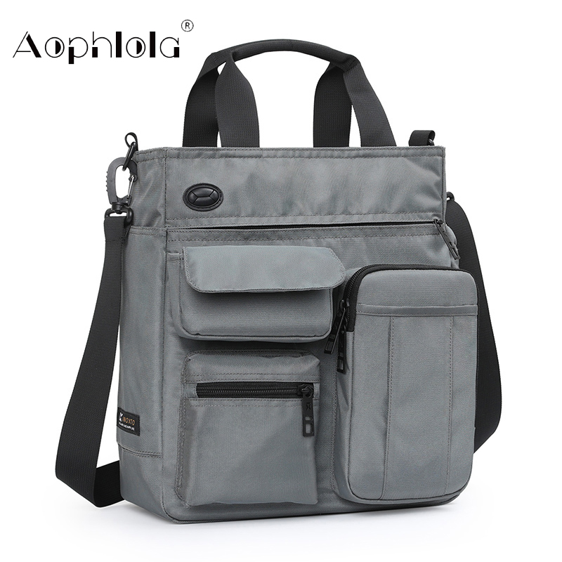High Quality Man Business Hand Bag Male Shoulder Bags For 9.7 Inch Ipad Urban Daily Carry Bag Crossbody Pack With Many Pocket