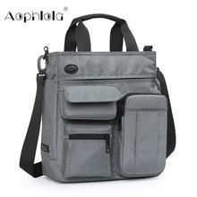 Деловая сумка для мужчин, портфель на плечо для Ipad 9,7 дюйма, городской Повседневный дорожный мешок кросс боди со множеством карманов