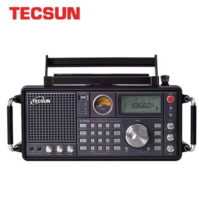 Радиоприемник TECSUN S-2000 HAM, PLL, FM/MW/SW/LW, Интернет-радио 1