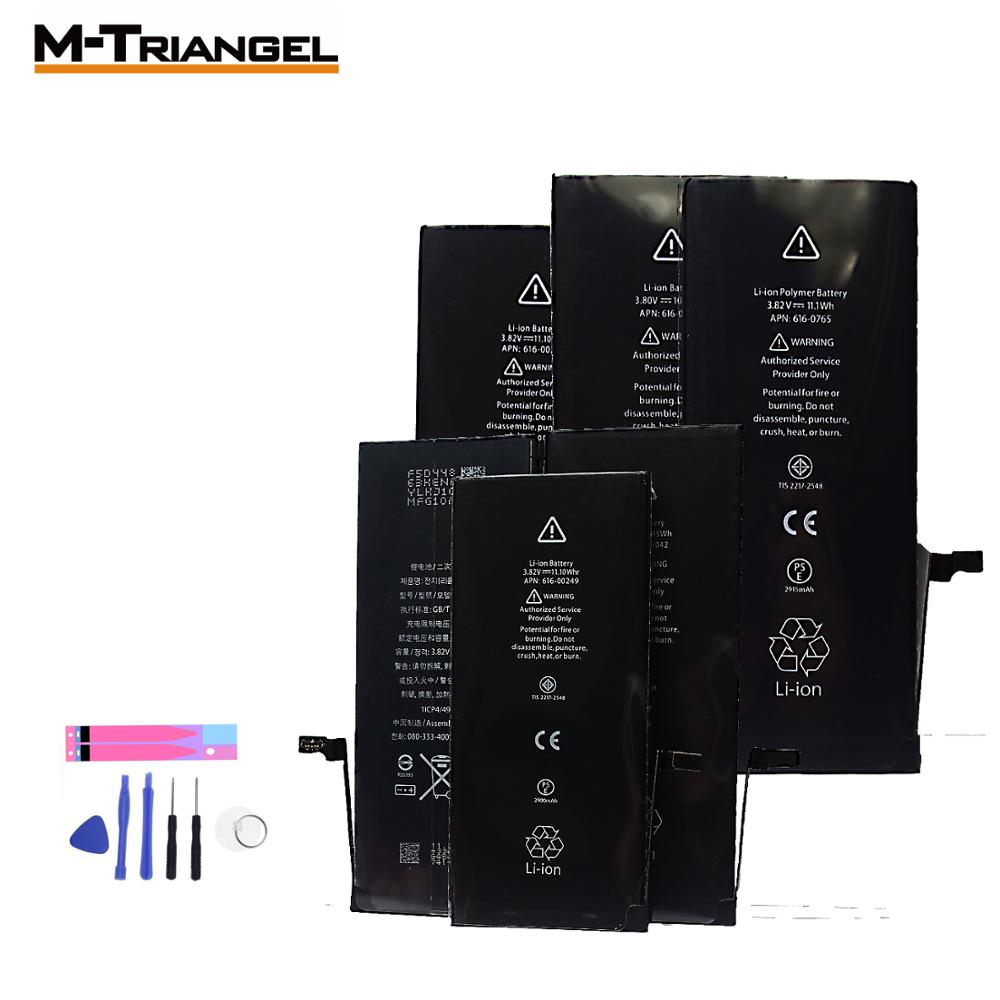 Mobile Phone Battery For IPhone5 Iphone 6 IPhone7 Battery Replacement Compatible 7plu 8 8plus XS XR SE Lithium Battery