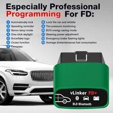 Vgate vLinker FD+ ELM327 Bluetooth 4.0 FORScan For Ford wifi OBD2 Car Diagnostic OBD 2 Scanner J2534 ELM 327 MS CAN Auto Tools