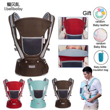 ibelibaby Baby Cariier Breathable Wrap Baby Carrier Pouch Wrap  Cotton Newborn Sling Ergonomic Baby Carriers Backpacks babycare ergonomic baby carriers backpacks 5 36 months portable baby sling wrap cotton infant newborn baby carrying belt for mom