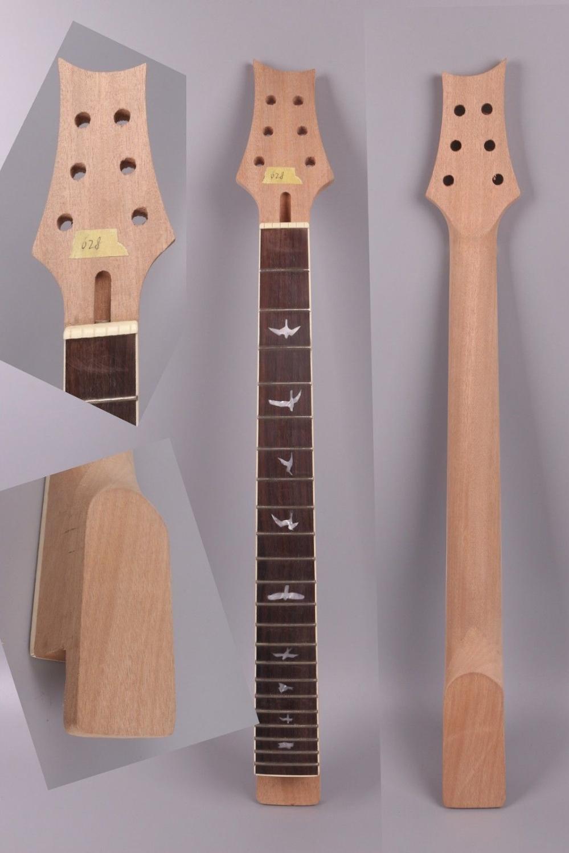 Remplacement de cou de guitare électrique 22 Fret 25.5 pouces guitare électrique en acajou PRS