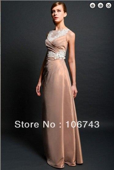Yes Sale Natural Taffeta Free Shipping Maxi Elegant 2016 Hot Formal New Fashion Vestidos Formales Long Celebrity Evening Dresses