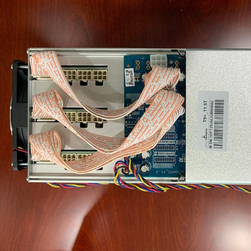 Neue Asic BTC Antminer T9 + Bitcoin Miner 11.5Th Bergbau SHA-256 Algorithmus 11.5Th/Für eine Spower Verbrauch 1380W t9 + S9K S9 S9J