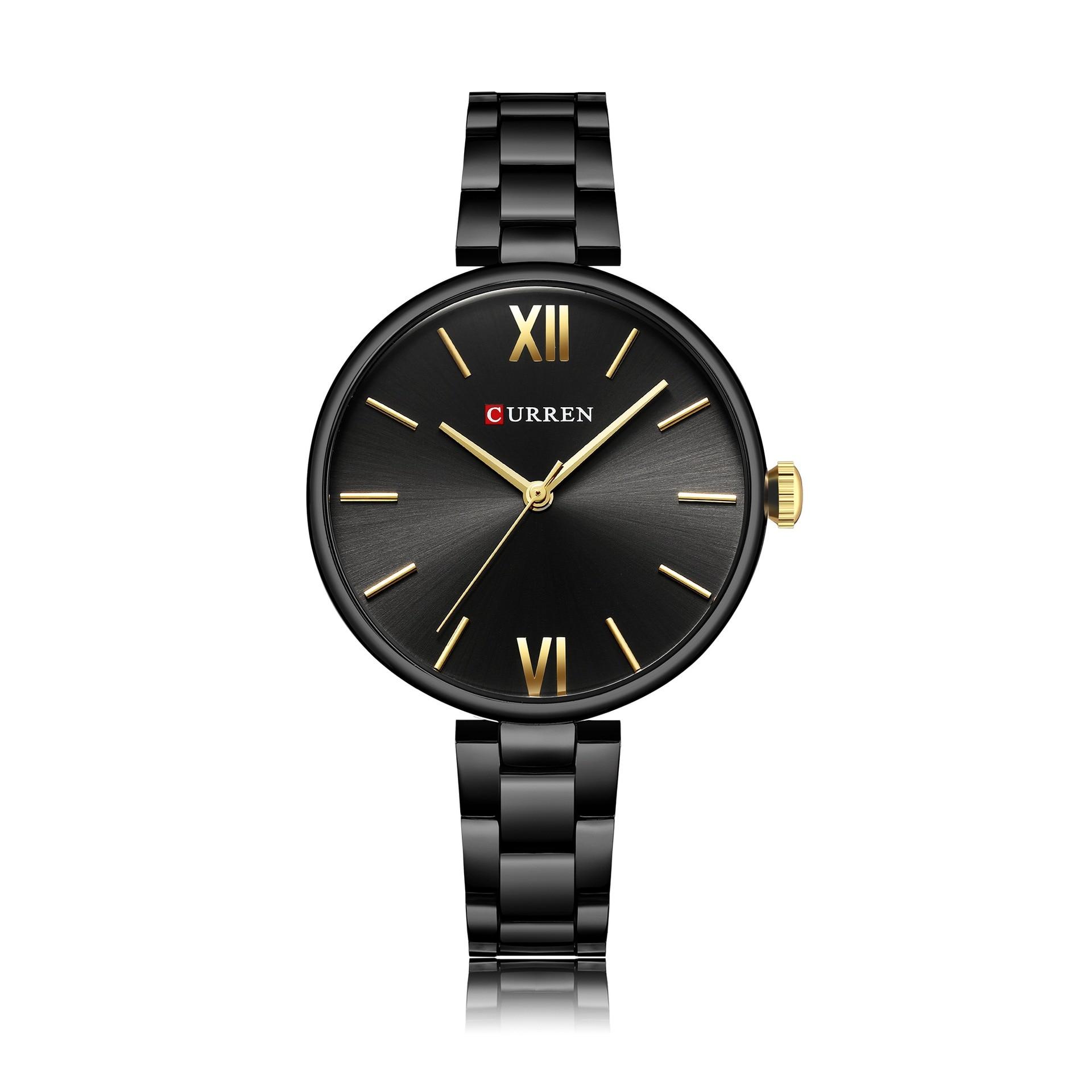 Nouvelle montre pour femme à la mode en acier ceinture montre pour femme étanche quartz montre de mode montre pour femme - 6