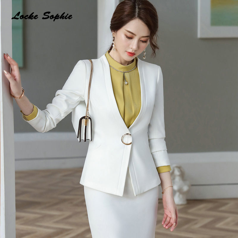 1pcs Womens Plus Size Blazers Coats 2019 Winter Cotton V-neck Slim Fit Small Suits Jackets Ladies Skinny Office Blazers Suits