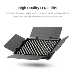 Image 3 - Viltrox VL S192T Đèn LED Video Bi Màu Mờ Từ Xa Không Dây Bảng Điều Khiển Chiếu Sáng + Tặng 1.8 M Giá Đỡ Cho chụp Studio
