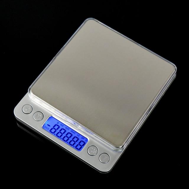 500g x 0.01g Digital Pocket Jewelry Weight Electronic Balance Gram Scale