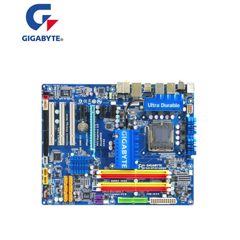 For GIGABYTE GA-EP45-UD3R P45 Motherboard LGA 775 DDR2 16GB For Intel EP45-UD3R Desktop Mainboard SATA II PCI-E X16 Used