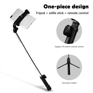 Image 5 - Селфи палка XT10 Palo 4 в 1, беспроводной складной монопод с Bluetooth для Iphone 8, 7, Xs, 11, Huawei, селфи палка