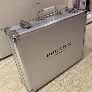 Image 5 - PHOENIX A1 Massage Gun with Aluminum Case Deep Tissue Muscle Massage Gun Cordless Therapy Vibration Body Massager