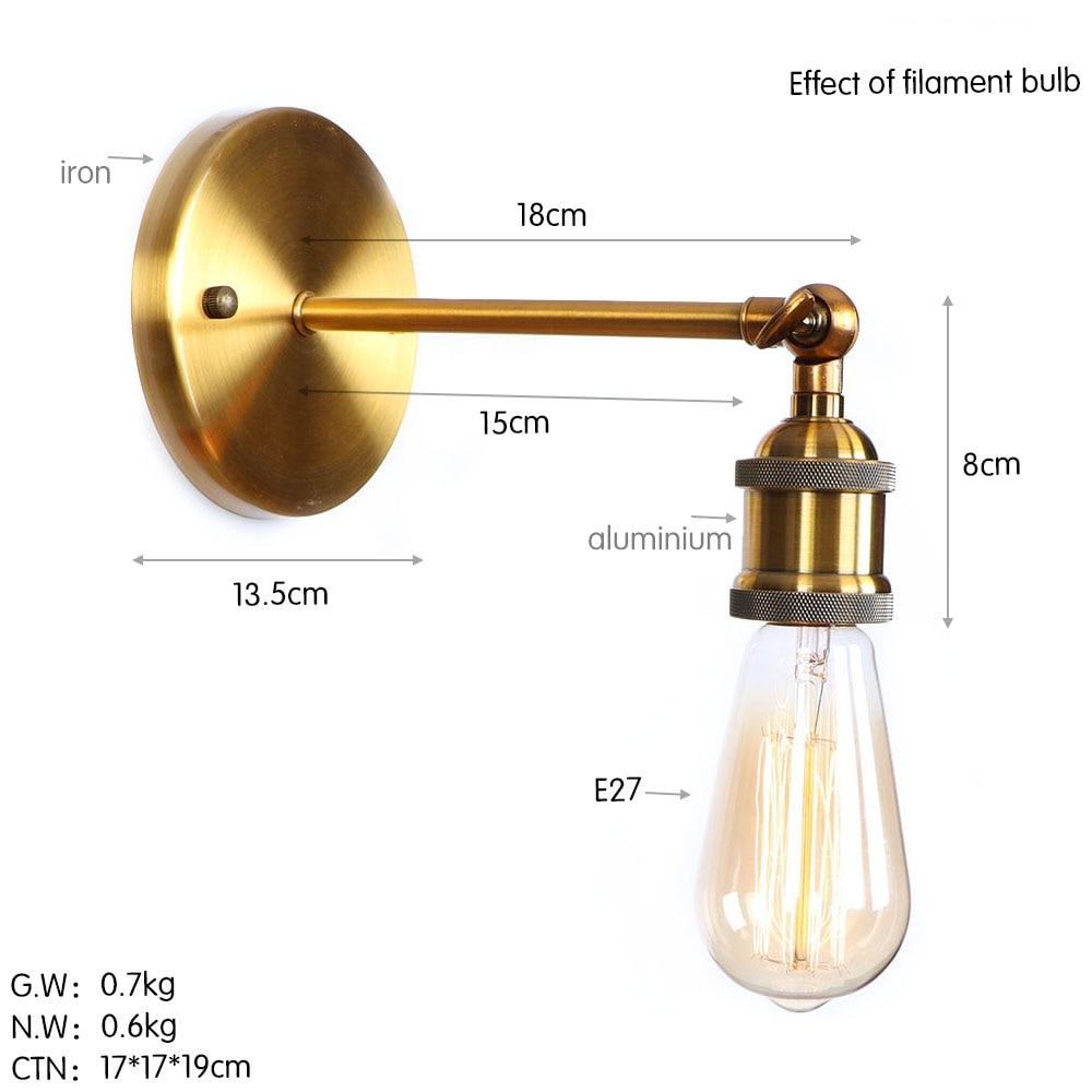 B0006 古铜色 尺寸图 钨丝