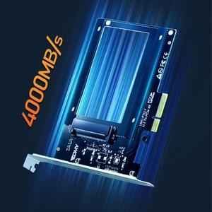 Image 2 - U.2 to PCI E X4 Riser Card PCI Express to U.2 Adapter Board PCI E to SSD Hard Drive Converter Card for 2.5 Inch SATA HDD
