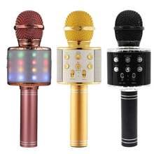 Микрофон для караоке беспроводной bluetooth микрофон музыкальный