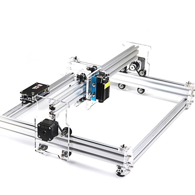 A3 Pro Laser Engraving CNC Machine Kit Wood Router DIY 500MW 2500MW 5500MW 30X38CM Work Area Min Bamboo Paper Carving Machine
