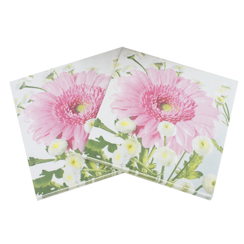 [Currently Available] Color Printed Napkin Creative Tissue Napkin