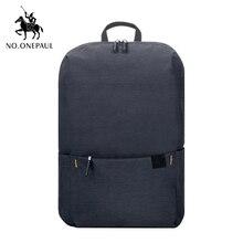 NO.ONEPAUL женский рюкзак унисекс в клетку Оксфорд для путешествий рюкзак для ноутбука mochila школьные сумки повседневные женские мини-сумки