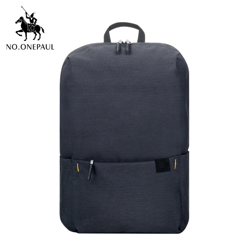 NO.ONEPAUL Unisex Plaid Oxford Female Travel Backpack Laptop Backpack Mochila Schoolbags Casual Women Mini Bags Free Shipping