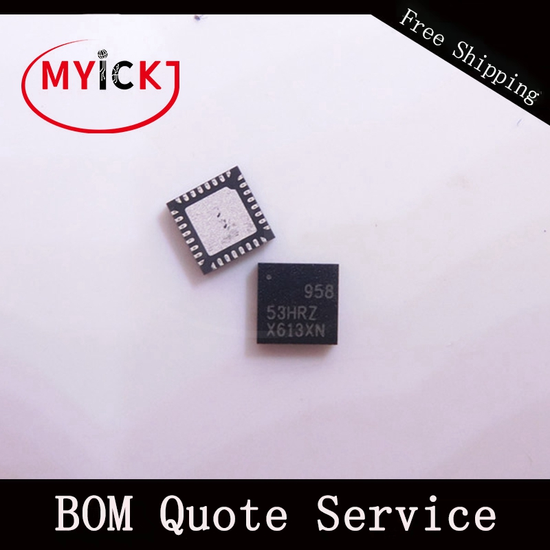 10PCS ISL95853HRZ-T QFN Multiphase PWM Regulator for IMVP8 CPUs IC CHIP image