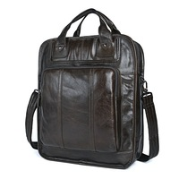 New Arrival Genuine Cow Leather Black Men Travel Backpack Bag Pack for Laptop Soft Leather for Students