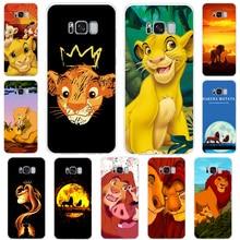 Cute cartoon lion king TPU soft case for Samsung J82018 J7Prime J7 J6Plus J52017