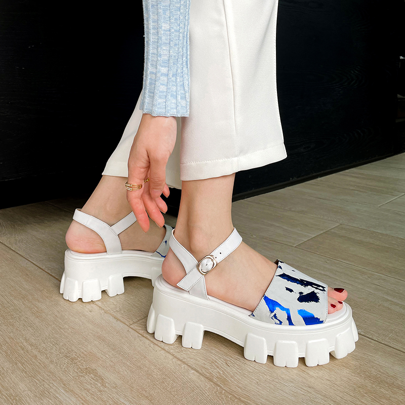 couro genuíno quadrado salto alto sapatos femininos