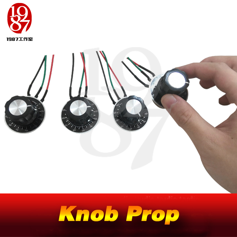 JXKJ1987 Real Life Escape Room Game Props Puzzles Themes Knob Switch Prop Rotate Knobs To The Right Position To Open The Door