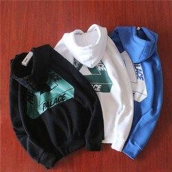 Palace Sweatshirt streetwear t-shirt baumwolle vogue rundhals t shirt frauen neue ankünfte paar shirt Herbst langen ärmeln Hoodies