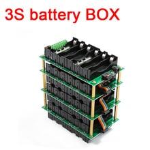 3s 12 v 전원 벽 배터리 상자 3s 배터리 팩 3s bms 18650 리튬 이온 리튬 배터리 bms pcb 40a 80a 보호 보드