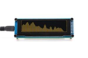 Image 3 - Link1 oled música indicador de espectro áudio amplificador velocidade ajustável agc modo 15 nível
