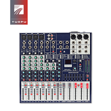 YUEPU RU-8Ts Professional Sound Audio Mixer 8 Channel 48V Phantom Power Reverbration Mixing Console MP3 Player USB Music For DJ yuepu ru 8ts professional sound audio mixer 8 channel 48v phantom power reverbration mixing console player usb music for dj