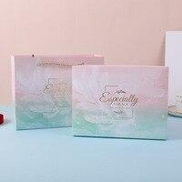 Wedding decoration feather candy paper packaging flower gift box коробка упаковка gift bag cajas de regalo bolsas papel пакетики
