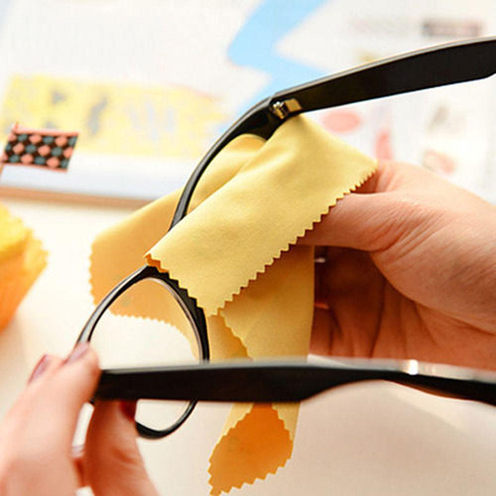 10Pc Microfiber Micro Phone Screen Camera Lens Glasses Square Cleaner Cleaning Cloth LENS ND UV Filter Cleaner Clean Cloth