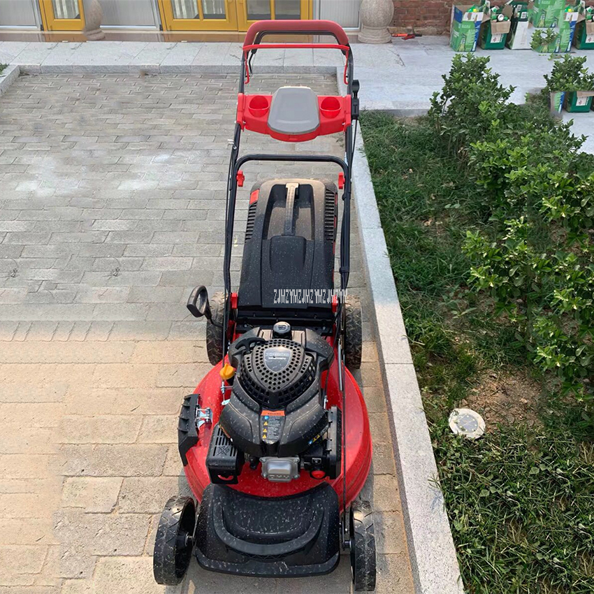 XP200 Low Noise Multifunctional Self-Propelled Mower Four-Stroke Gasoline Mower Height Adjustment Petrol Lawn Mower Garden Tool