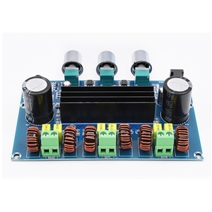 Image 5 - XH A305 Bluetooth 5.0 Audio Stereo Digital Power Amplifier Board TPA3116D2 50Wx2+100W 2.1 Channel Bass Subwoofer AMP Module